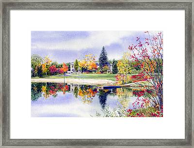 Reflections Of Home Framed Print by Hanne Lore Koehler