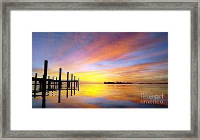 Reflections Of Summer Framed Print by Benanne Stiens