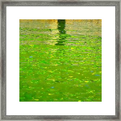 Reflections On Cambridge Framed Print by Roberto Alamino