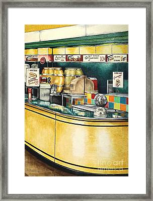 Reflections Passed Framed Print by David Neace