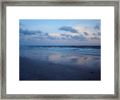 Reflections Framed Print by Sandy Keeton