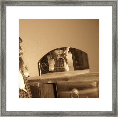 Reflections Framed Print by Susie DeZarn