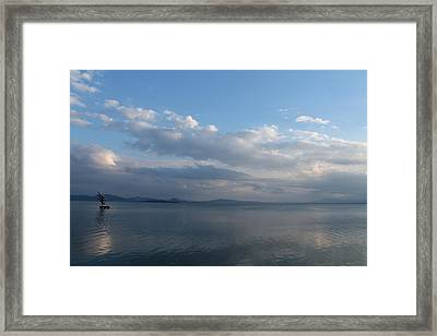 Reflects Framed Print by Carlo Artemi