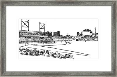 Regions Field - Black And White Framed Print by Greg Smith