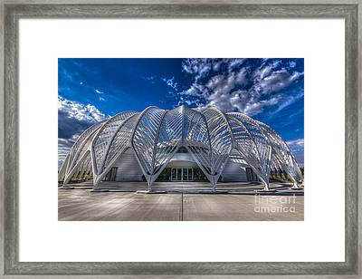 Reinforced Technology Framed Print by Marvin Spates