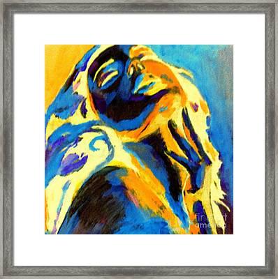 Rejoice Framed Print by Helena Wierzbicki