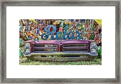 Relax Framed Print by Stephen Stookey