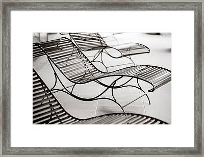 Relaxation Framed Print by Marilyn Hunt
