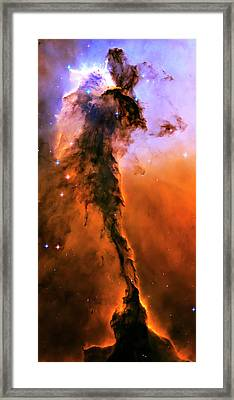 Release - Eagle Nebula 1 Framed Print by Jennifer Rondinelli Reilly - Fine Art Photography