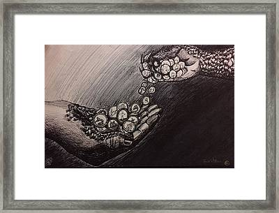 Religion Framed Print by Candis Williams
