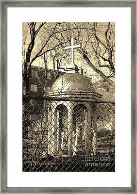 Religion Framed Print by Reb Frost