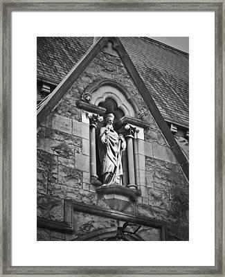 Religious Icon Nenagh Ireland Framed Print by Teresa Mucha