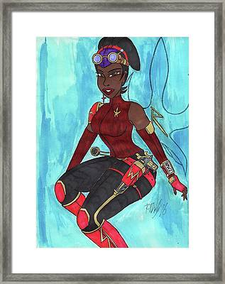 Reluctant Hero Framed Print by Ronald Woods