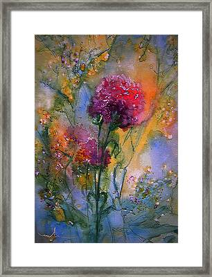 Remains Of The Day Framed Print by Miki De Goodaboom