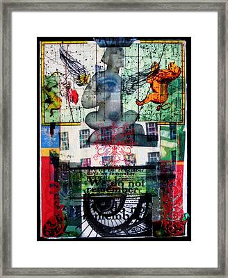 Remember Automatic Recall Framed Print by Liz  London
