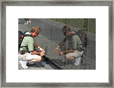 Remembering The Past Framed Print by Teresa Blanton