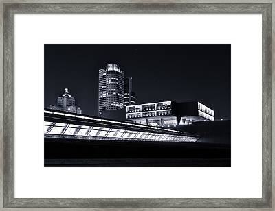 Remembrance Creativity And Living Framed Print by CJ Schmit