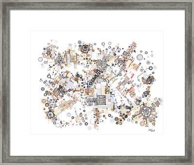 Remembrances Of Past Glories Framed Print by Regina Valluzzi