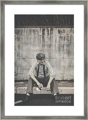 Reminiscing Days Of The Milkbar Framed Print by Jorgo Photography - Wall Art Gallery