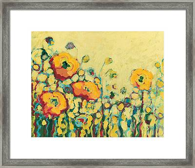 Reminiscing On A Summer Day Framed Print by Jennifer Lommers