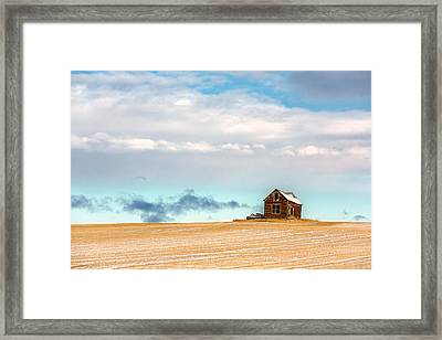Remnants Of The Past Framed Print by Todd Klassy