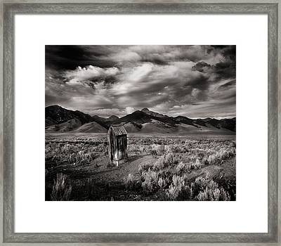 Remote Necessities Framed Print by Leland D Howard