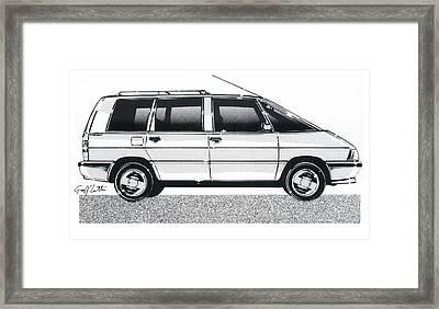 Renault Espace Framed Print by Geoff Latter