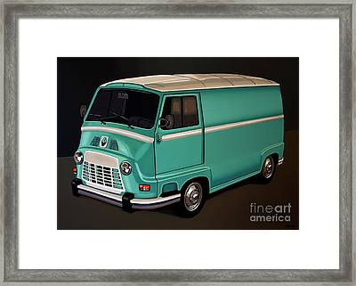 Renault Estafette 1959 Painting Framed Print by Paul Meijering