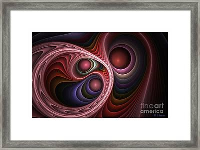 Renderosity Framed Print by Sandra Bauser Digital Art