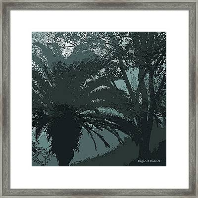Rendezvous In The Fog Framed Print by DigiArt Diaries by Vicky B Fuller
