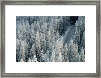 Rendezvous Framed Print by Teemu Kalliolahti