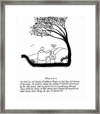 Renewal Framed Print by Rich Brumfield