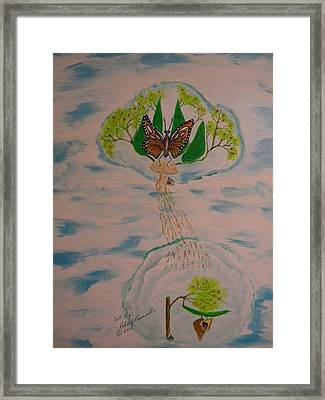 Renewal Framed Print by Robert Provencial