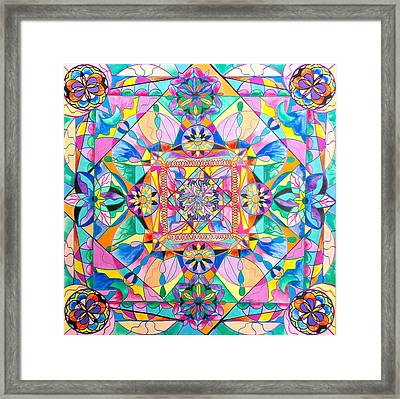 Renewal Framed Print by Teal Eye Print Store