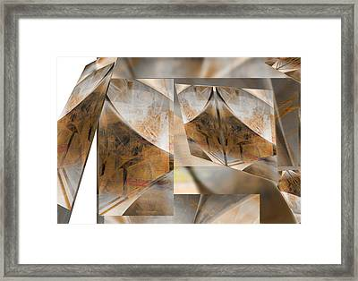 Reorganize Framed Print by Art Di