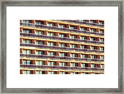 Repetition Framed Print by Wim Lanclus