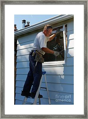 Replacing Windows Framed Print by Scimat