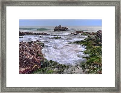 Replenish The Tide Pools 2 Framed Print by Eddie Yerkish