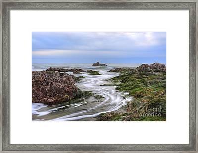 Replenish The Tide Pools Framed Print by Eddie Yerkish