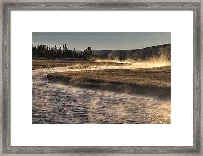 Repose Of Nature Framed Print by Mark Kiver