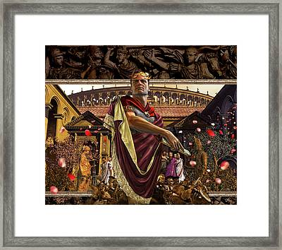 Republic Of Rome Framed Print by Kurt Miller