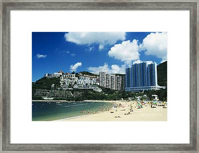 Repulse Bay Framed Print by Gloria and Richard Maschmeyer - Printscapes
