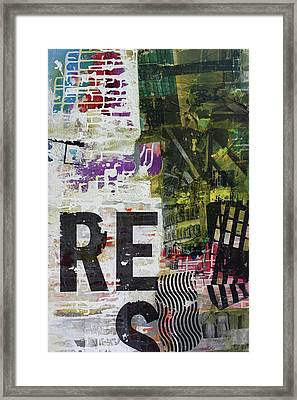 Res- Framed Print by Jim Ford