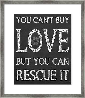 Rescue It Framed Print by Jaime Friedman