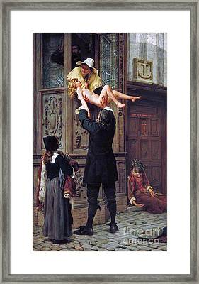 Rescued From The Plague Framed Print by MotionAge Designs