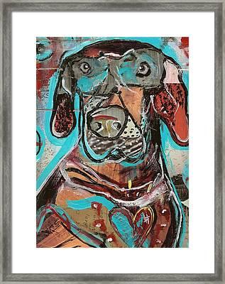 Rescued Heart Framed Print by Robert Wolverton Jr