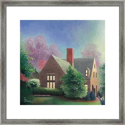 Residential Portrait Framed Print by Joe Winkler