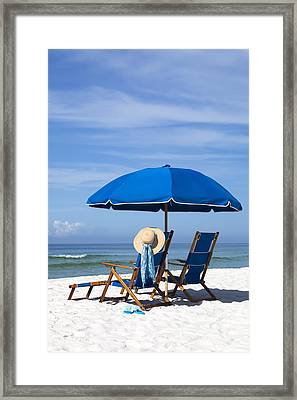 Rest And Relaxation Framed Print by Janet Fikar