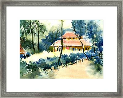 Rest House Framed Print by Anil Nene