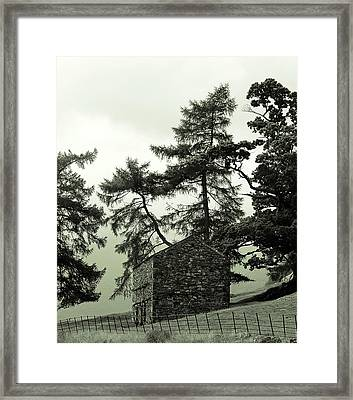 Rest House Framed Print by Martin Newman